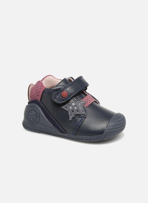 Boots en enkellaarsjes Biomecanics Estrella Blauw detail