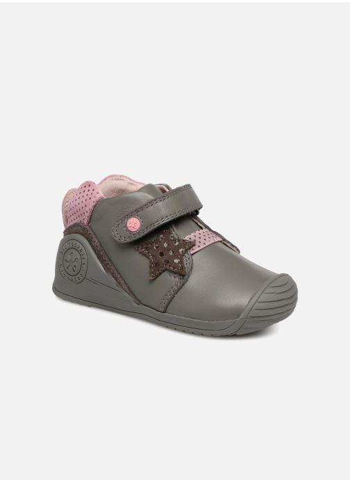 Ankle boots Biomecanics Estrella Grey detailed view/ Pair view
