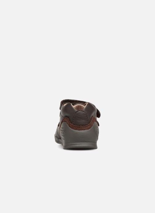 Ankle boots Biomecanics Juanito Brown view from the right