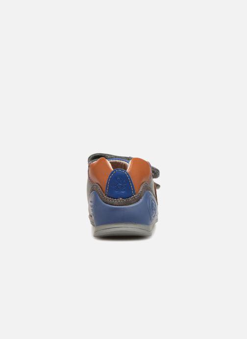 Baskets Biomecanics Capitan Gris vue droite