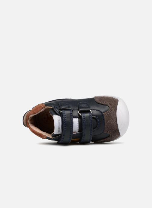 Stiefeletten & Boots Biomecanics Diego blau ansicht von links