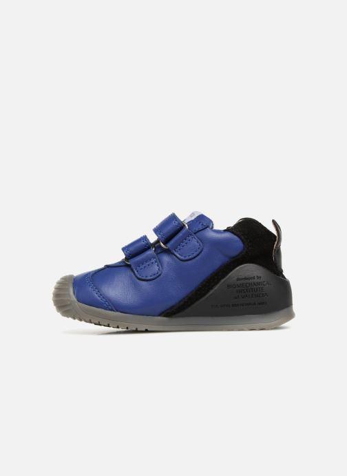 Bottines et boots Biomecanics Esteban Bleu vue face