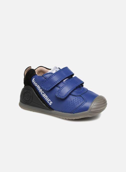 Ankle boots Biomecanics Esteban Blue detailed view/ Pair view