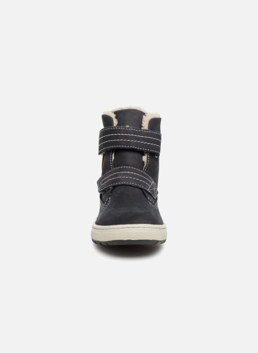 Baskets Lurchi by Salamander Diego-Tex Bleu vue portées chaussures