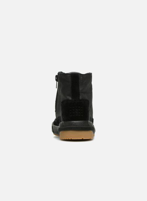 Sneaker TBS Bivouac schwarz ansicht von rechts