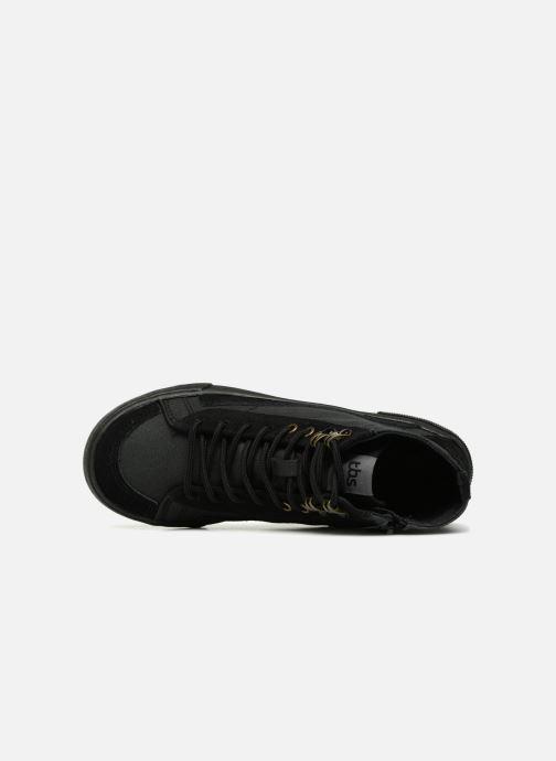 Sneaker TBS Bivouac schwarz ansicht von links