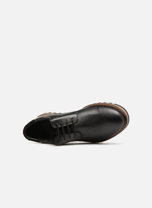 Zapatos con cordones TBS Haldenn Negro vista lateral izquierda