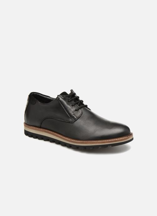 Lace-up shoes TBS Haldenn Black detailed view/ Pair view