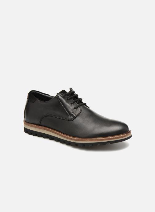 Chaussures à lacets TBS Haldenn Noir vue détail/paire