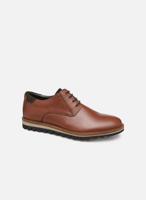 Zapatos con cordones TBS Haldenn Marrón vista de detalle / par