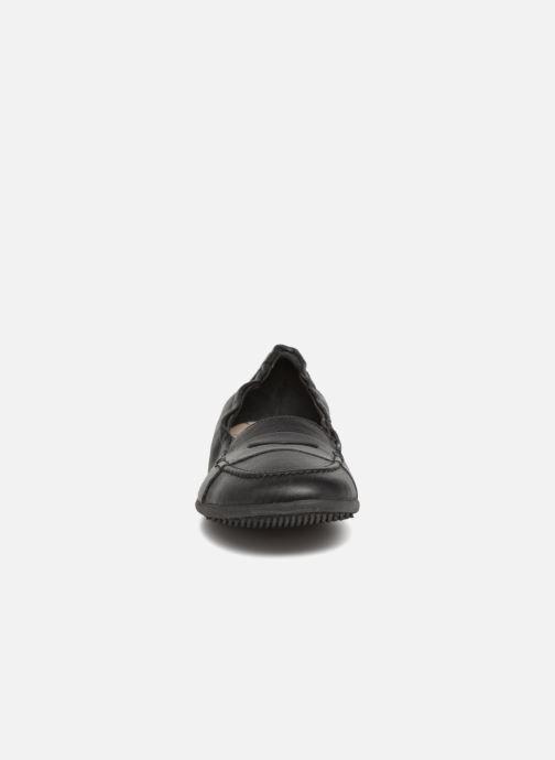 Mocassins TBS Harissa Noir vue portées chaussures