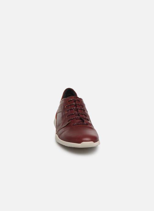 Baskets TBS Jardins Bordeaux vue portées chaussures