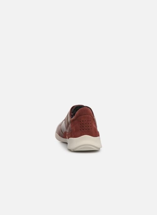 Trainers TBS Jardins Burgundy view from the right