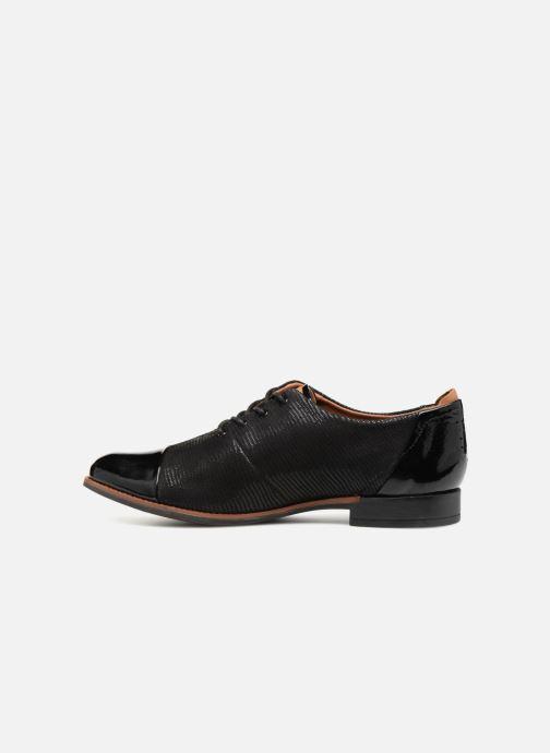 Zapatos con cordones TBS Missies Negro vista de frente