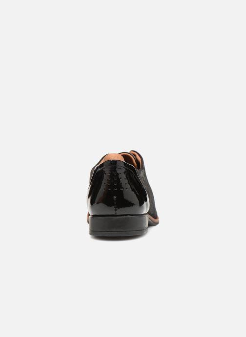 Zapatos con cordones TBS Missies Negro vista lateral derecha