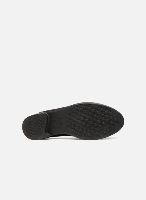 Chaussures à lacets TBS Missies Noir vue haut