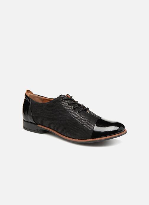 Chaussures à lacets TBS Missies Noir vue détail/paire
