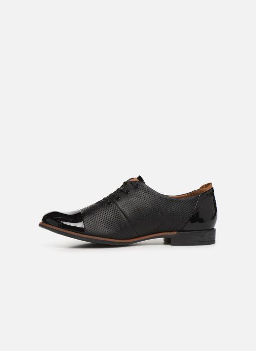 Chaussures à lacets TBS Missies Noir vue face