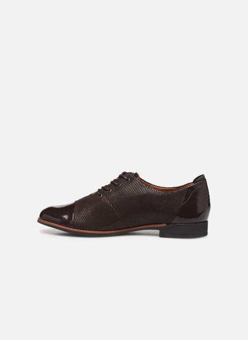 Chaussures à lacets TBS Missies Marron vue face
