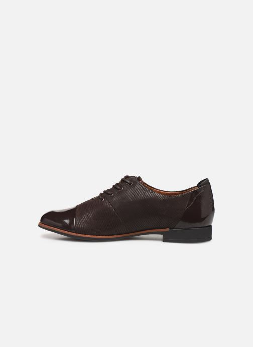 Lace-up shoes TBS Missies Brown front view
