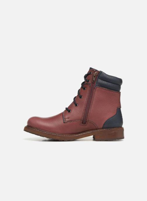 Boots en enkellaarsjes TBS Mistral Rood voorkant