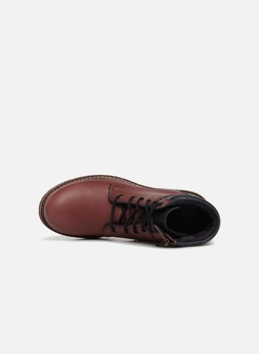 Boots en enkellaarsjes TBS Mistral Rood links
