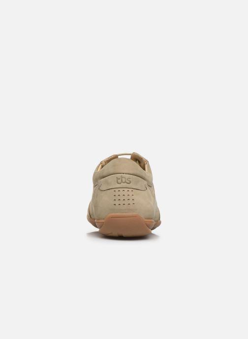 Sneakers TBS Tumbler Beige immagine destra