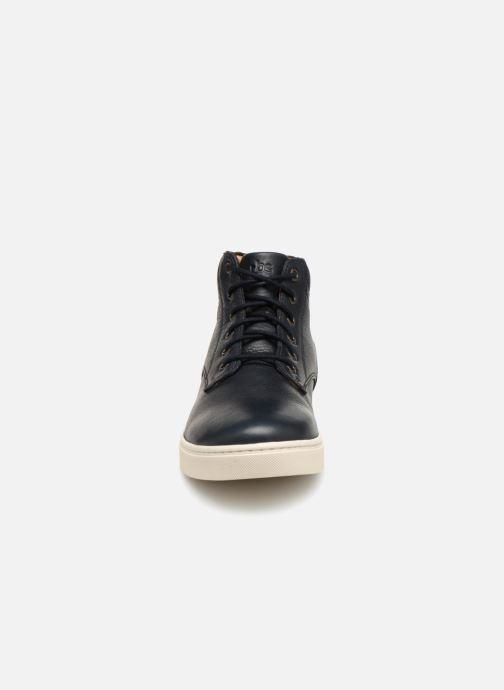 Sneakers TBS Vektors Nero modello indossato