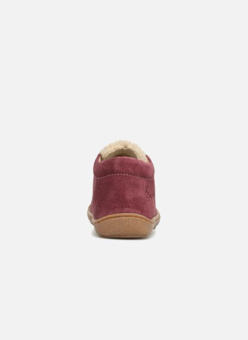 Bottines et boots Naturino Wooly Rose vue droite