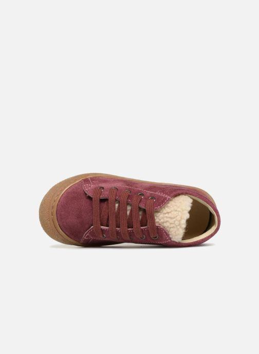 Bottines et boots Naturino Wooly Rose vue gauche