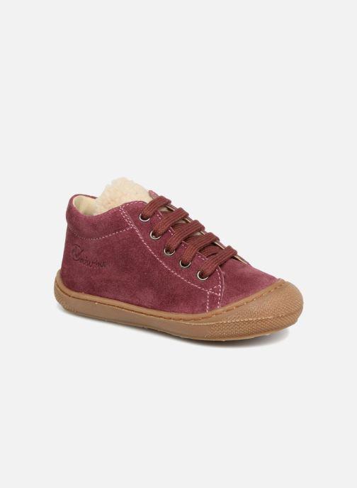 Bottines et boots Naturino Wooly Rose vue détail/paire