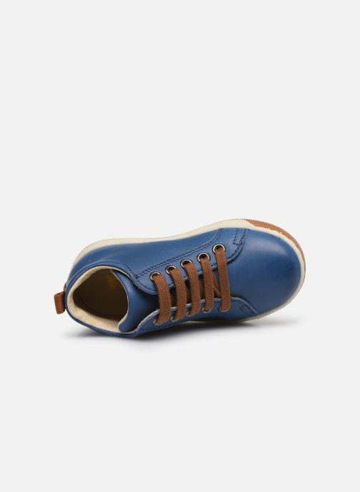 Stiefeletten & Boots Naturino Haley blau ansicht von links