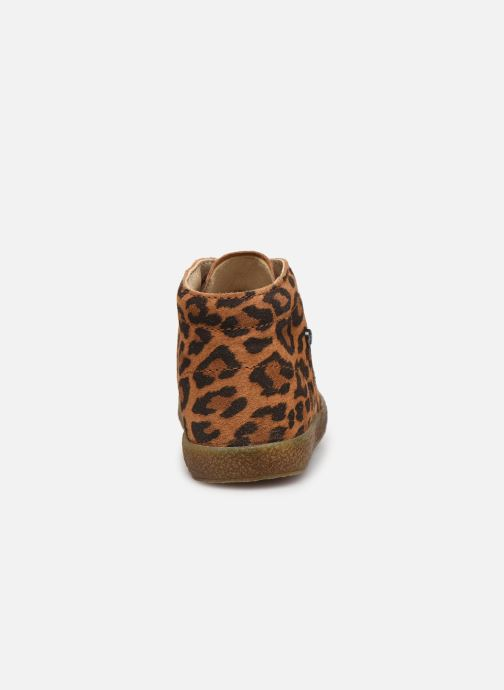 Ankle boots Naturino Conte Brown view from the right