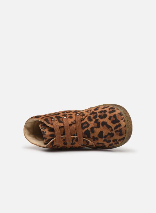 Boots en enkellaarsjes Naturino Conte Bruin links