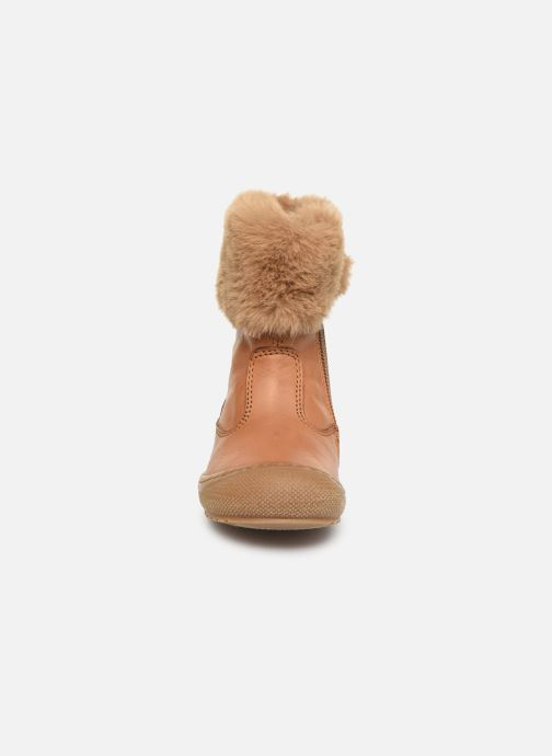 Bottes Naturino Tender Marron vue portées chaussures