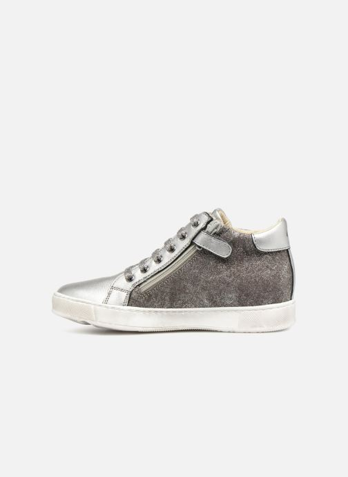 Trainers Naturino Mons Silver front view