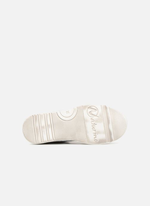 Trainers Naturino Mons Silver view from above