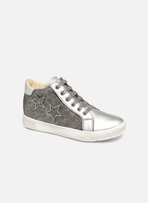 Trainers Naturino Mons Silver detailed view/ Pair view