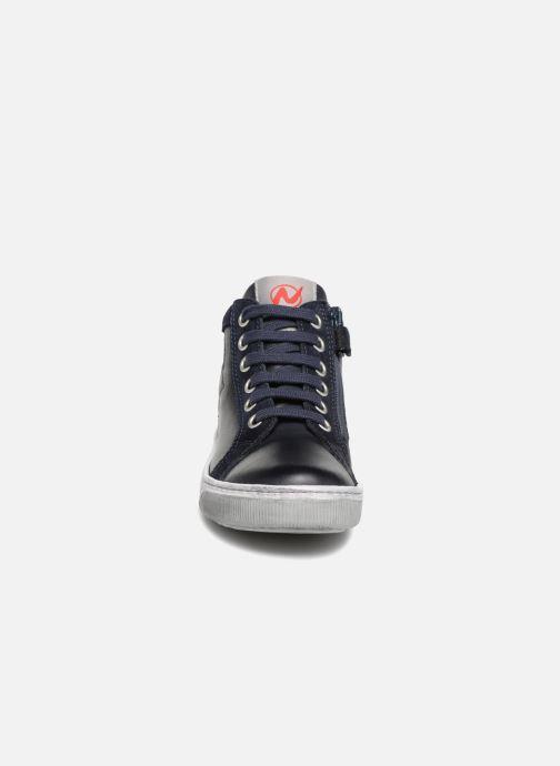 Sneaker Naturino Clay Star blau schuhe getragen