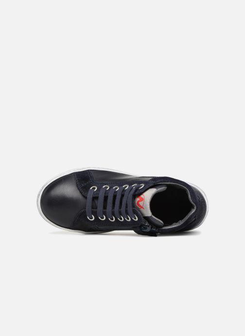 Sneaker Naturino Clay Star blau ansicht von links
