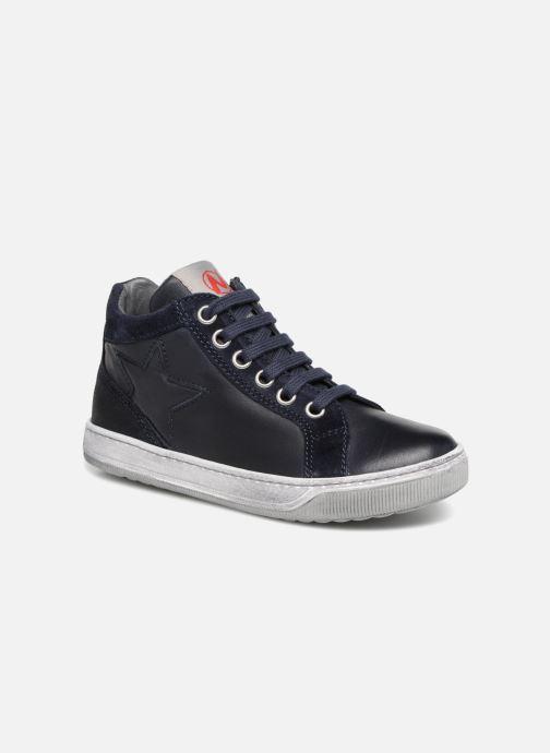 Sneakers Naturino Clay Star Blauw detail