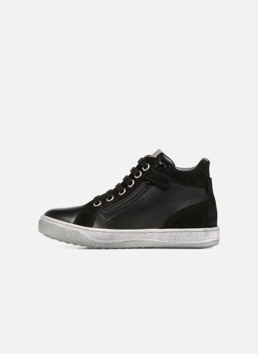 Sneakers Naturino Clay Star Nero immagine frontale