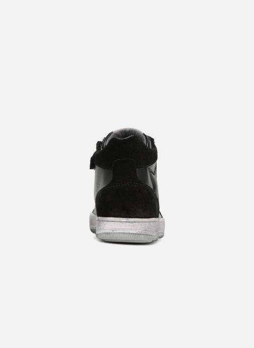 Sneakers Naturino Clay Star Nero immagine destra