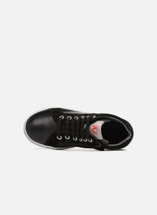 Sneakers Naturino Clay Star Nero immagine sinistra