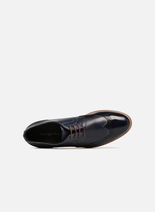 Chaussures à lacets Georgia Rose Nibrit Bleu vue gauche