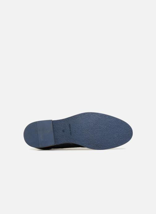 Chaussures à lacets Georgia Rose Nibrit Bleu vue haut