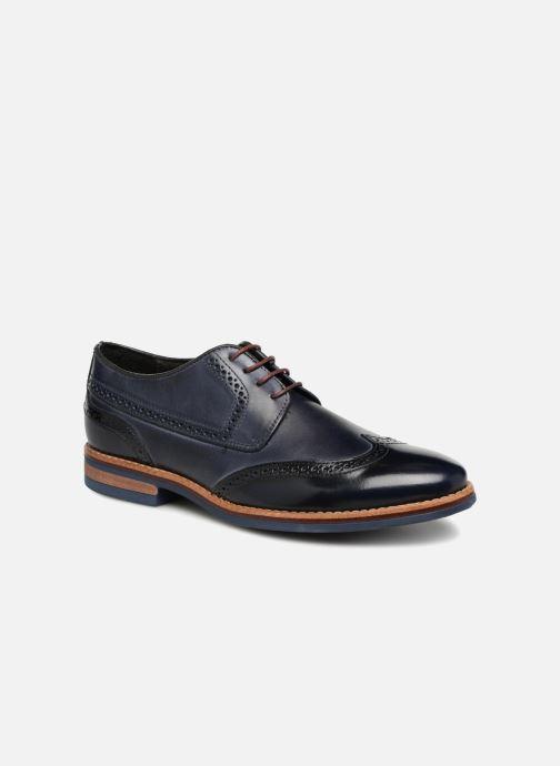Chaussures à lacets Georgia Rose Nibrit Bleu vue détail/paire