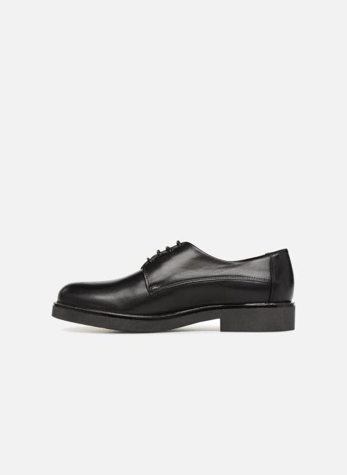 Chaussures à lacets Georgia Rose Niroule Noir vue face