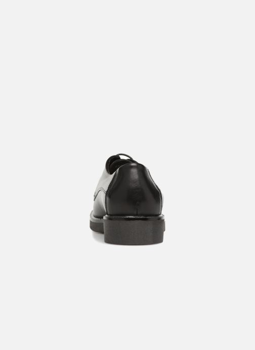 Chaussures à lacets Georgia Rose Niroule Noir vue droite