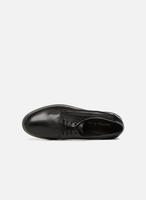 Chaussures à lacets Georgia Rose Niroule Noir vue gauche